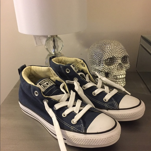 Converse Shoes | Navy Blue High Top